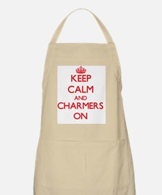 Keep Calm and Charmers ON Apron