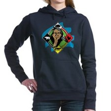 Native American Medicine Women's Hooded Sweatshirt