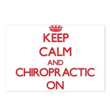 Keep Calm and Chiropracti Postcards (Package of 8)