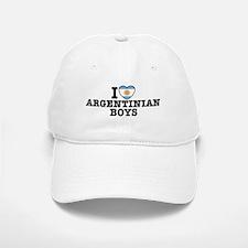 I Love Argentinian Boys Baseball Baseball Cap
