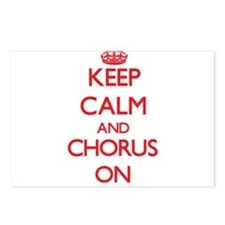 Keep Calm and Chorus ON Postcards (Package of 8)
