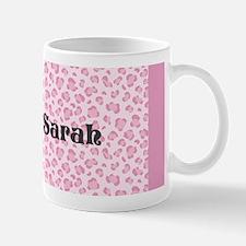 Pink Leopard Mugs