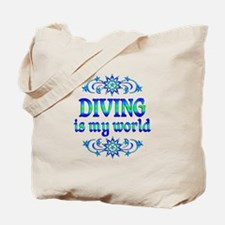 Diving is my World Tote Bag