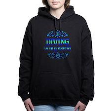 Diving is my World Women's Hooded Sweatshirt