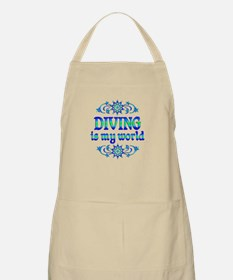 Diving is my World Apron