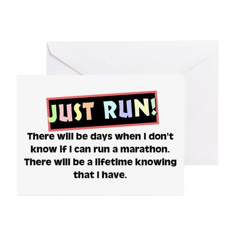 Marathon Runner's Greeting Cards (Pk of 10)