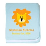 Lion personalize Blanket