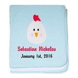 Personalized rooster Cotton
