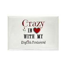 English Foxhound Magnets