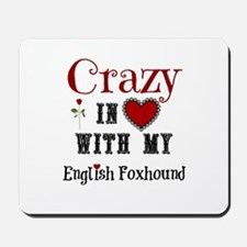 English Foxhound Mousepad