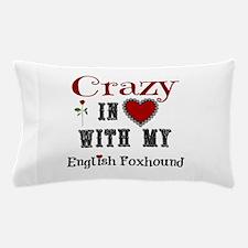 English Foxhound Pillow Case