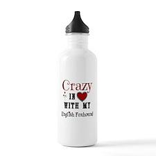 English Foxhound Water Bottle