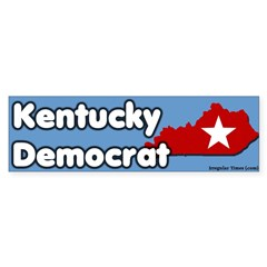 Kentucky Democrat Bumper Bumper Sticker