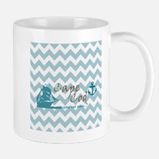Cape Cod Chevron Mug