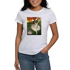 Dancer 1 & fawn Pug Women's T-Shirt