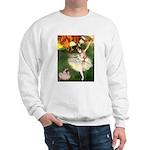 Dancer 1 & fawn Pug Sweatshirt