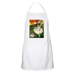 Dancer 1 & fawn Pug Apron