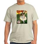 Dancer 1 & fawn Pug Light T-Shirt