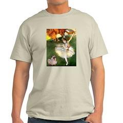 Dancer 1 & fawn Pug T-Shirt