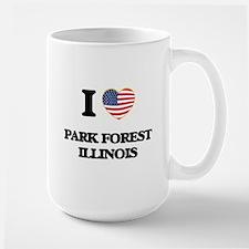 I love Park Forest Illinois Mugs