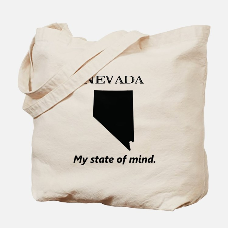 Nevada - My State of Mind Tote Bag