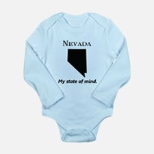 Nevada - My State of M Long Sleeve Infant Bodysuit