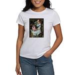 Ophelia / Fawn Pug Women's T-Shirt