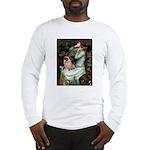 Ophelia / Fawn Pug Long Sleeve T-Shirt