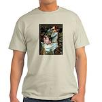 Ophelia / Fawn Pug Light T-Shirt