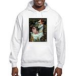 Ophelia / Fawn Pug Hooded Sweatshirt