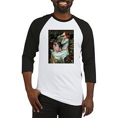Ophelia / Fawn Pug Baseball Jersey