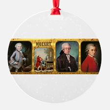 Unique Mozart Ornament