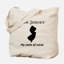 New Jersey - My State of Mind Tote Bag