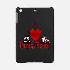 I Heart Panda Bears iPad Mini Case