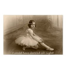 Dance All ight Postcards (Package of 8)