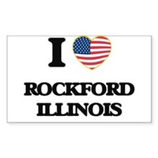 I love Rockford Illinois Decal