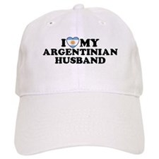 I Love My Argentinian Husband Baseball Cap