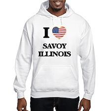I love Savoy Illinois Hoodie