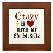 Finnish Spitz Framed Tile
