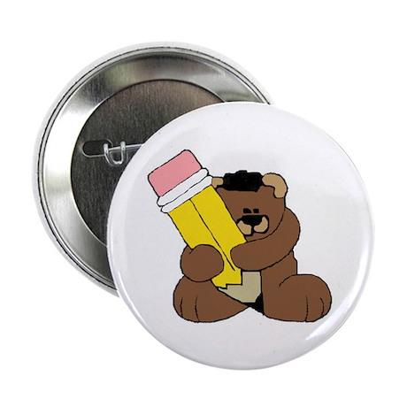 """School Bear 2.25"""" Button (100 pack)"""