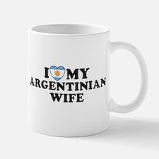I Love My Argentinian Wife Mug