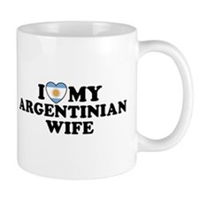 I Love My Argentinian Wife Mug