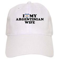 I Love My Argentinian Wife Baseball Cap