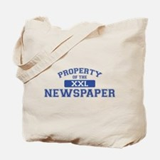 Property Of The Newspaper XXL Tote Bag