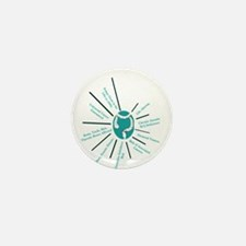 Familial Polyposis Mini Button (10 pack)