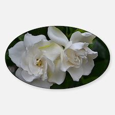 White Magnolia Decal