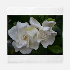 White Magnolia Queen Duvet