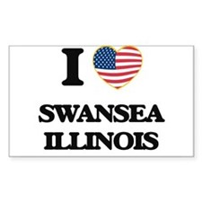 I love Swansea Illinois Decal