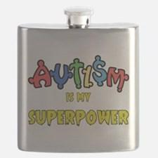 Autism Superpower Flask