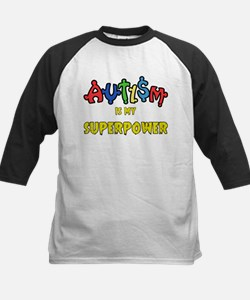 Autism Superpower Baseball Jersey